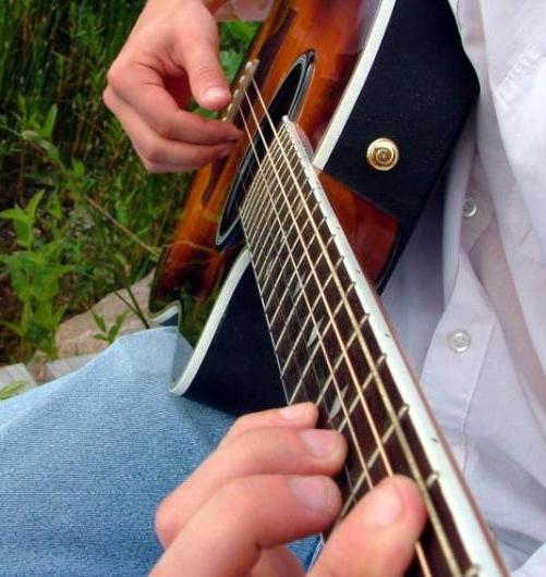 Photo-of-playing-guitar-instrument-combat-hearing-loss-General-Hearing-Instruments